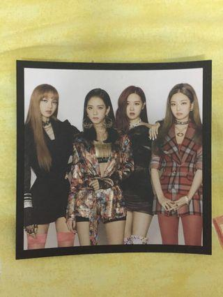 Blackpink official postcard!