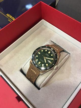 [48折預訂] ORIS HERITAGE 65 AUTOMATIC 42MM WATCH