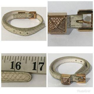 Assorted authentic leather bracelet