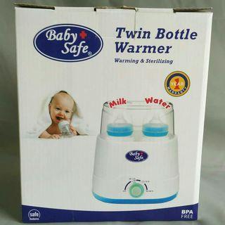 Baby Safe - Twin Bottle Warmer