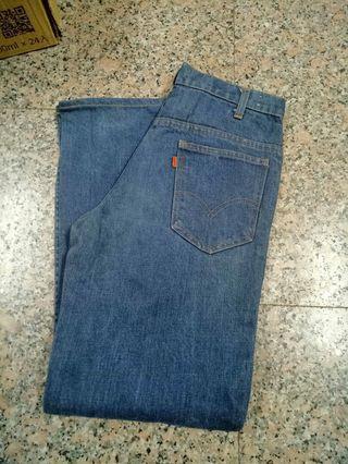 🚚 全新Levis-646造型牛仔褲-25腰