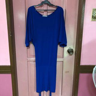 Royal Blue Strechable Dress