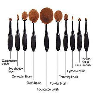 🚚 BNIB 10 Makeup Brushes