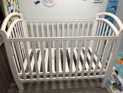 Bonbijou Baby Cot convertible to junior bed