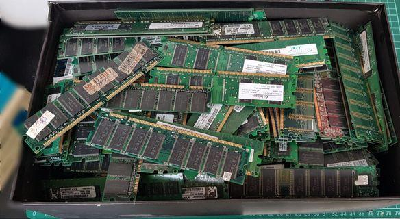 DDR1&2 RAM (Below 1GB)