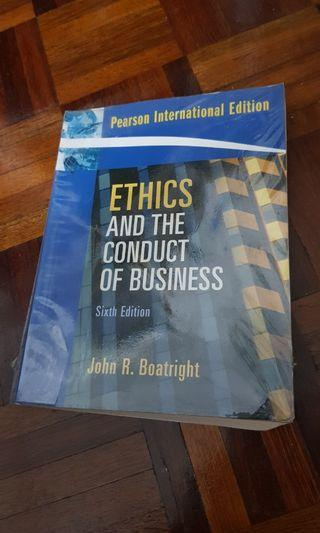 Ethics and the Conduct of Business Sixth Edition John R. Boatright