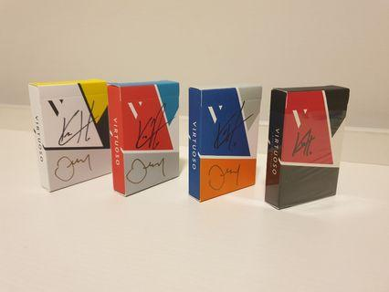 🚚 SIGNED Virtuoso Playing Cards All ver( launch to ss16