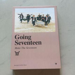 SEVENTEEN Mini Album Vol.3 - Going Seventeen (Make The Seventeen)