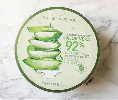 Authentic nature republic aloe gel