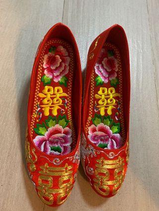 37號中式褂鞋