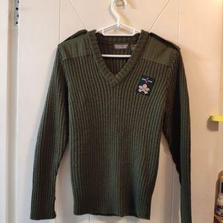 童軍羊毛冷衫