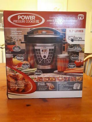 Pressure-Slow Cooker $85 OFF 6 quart