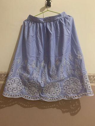 Blue Skirt size S