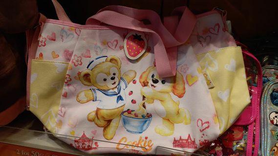 Disney Cookie & Duffy造型三用袋