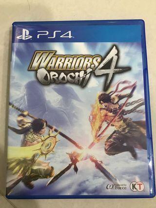 Orochi 4 PS4