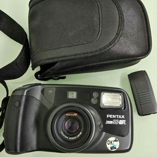 PENTAX ZOOM 90-WR菲林相機  變焦 防水 遙控