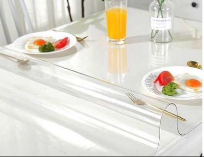 🚚 Transparent Tabletop PVC Cover