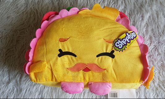 Shopkins Taco Terrie Pillow