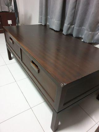 Wooden Coffee Table tv console