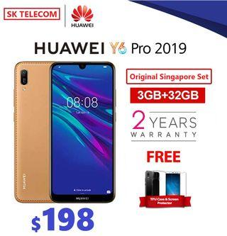 Huawei Y6 Pro 2019 with gifts