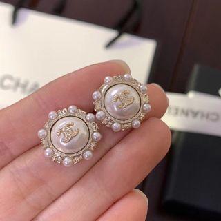 Chanel復古耳環