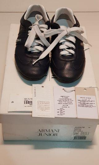 Armani boy shoes. Authenticity guarantee.