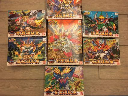 BB戰士 七盒 天星七人眾 (輝羅鋼) SD GG Gundam 高達模型