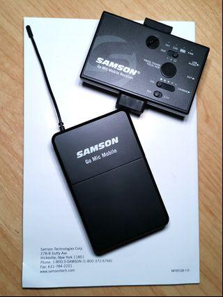 Samson Go Mic Mobile ( Wireless Mic For Camera and Mobile)