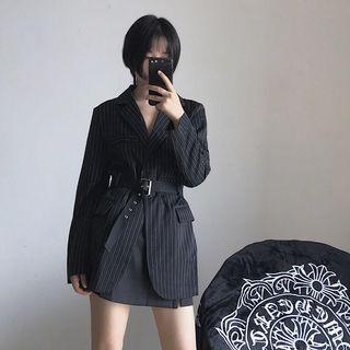 Ulzzang Striped Blazer