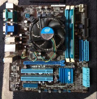 Intel i5 board ssd ramm