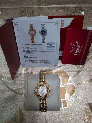 🚚 瑞士愛其華真鑽珠寶腕錶