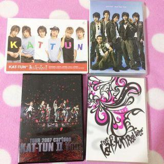 KAT-TUN 傑尼斯 演唱會 DVD 龜梨和也 赤西仁
