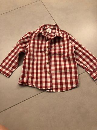 Zara baby long sleeve shirt top