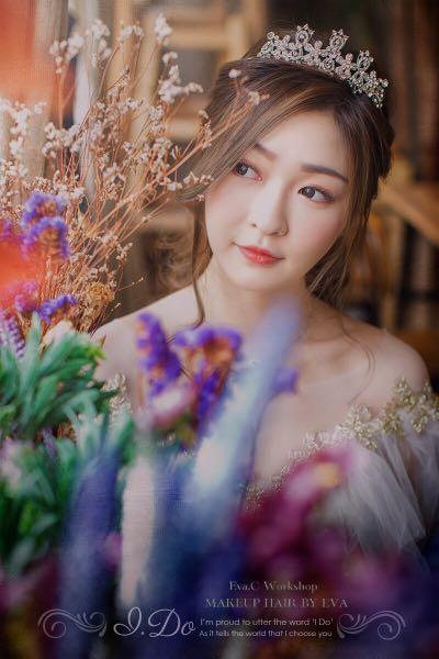 30/04/2019前預約試妝即可享有2019年全日新娘化妝髮型package優惠!