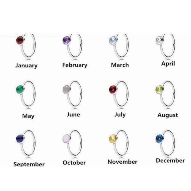Parity Pandora Rings Birthstone April Up To 68 Off