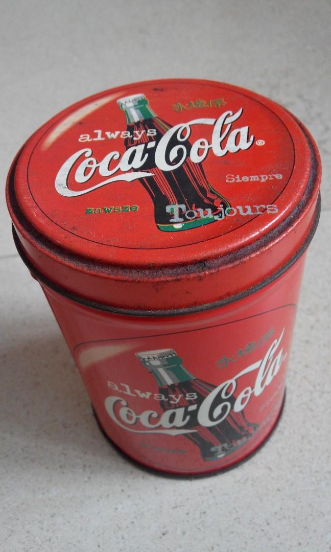 可口可樂鐵罐