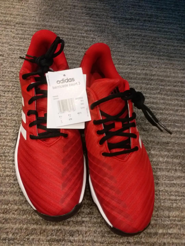 Adidas Barricade Court 3 Tennis Shoes