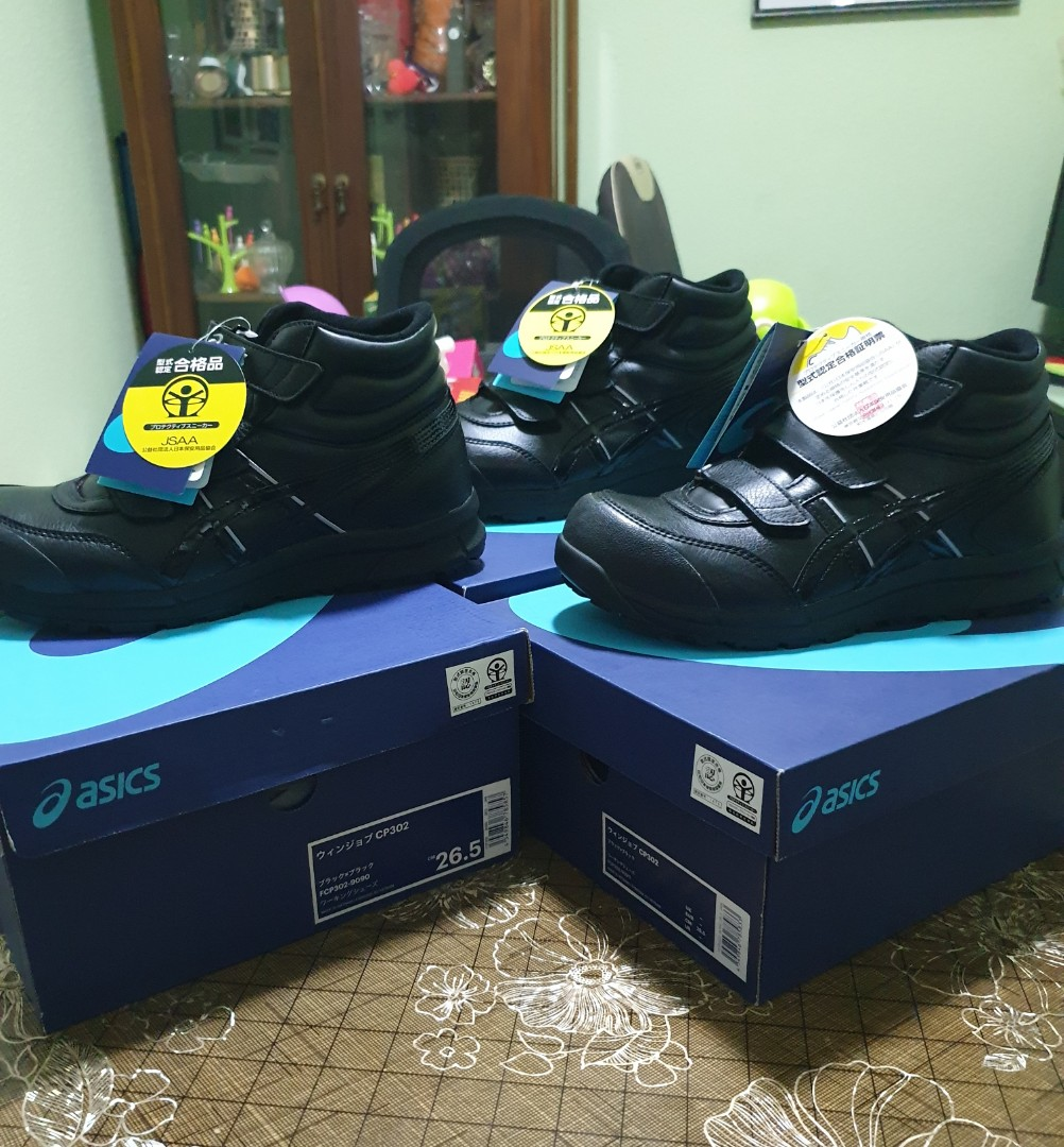 Asics safety shoes