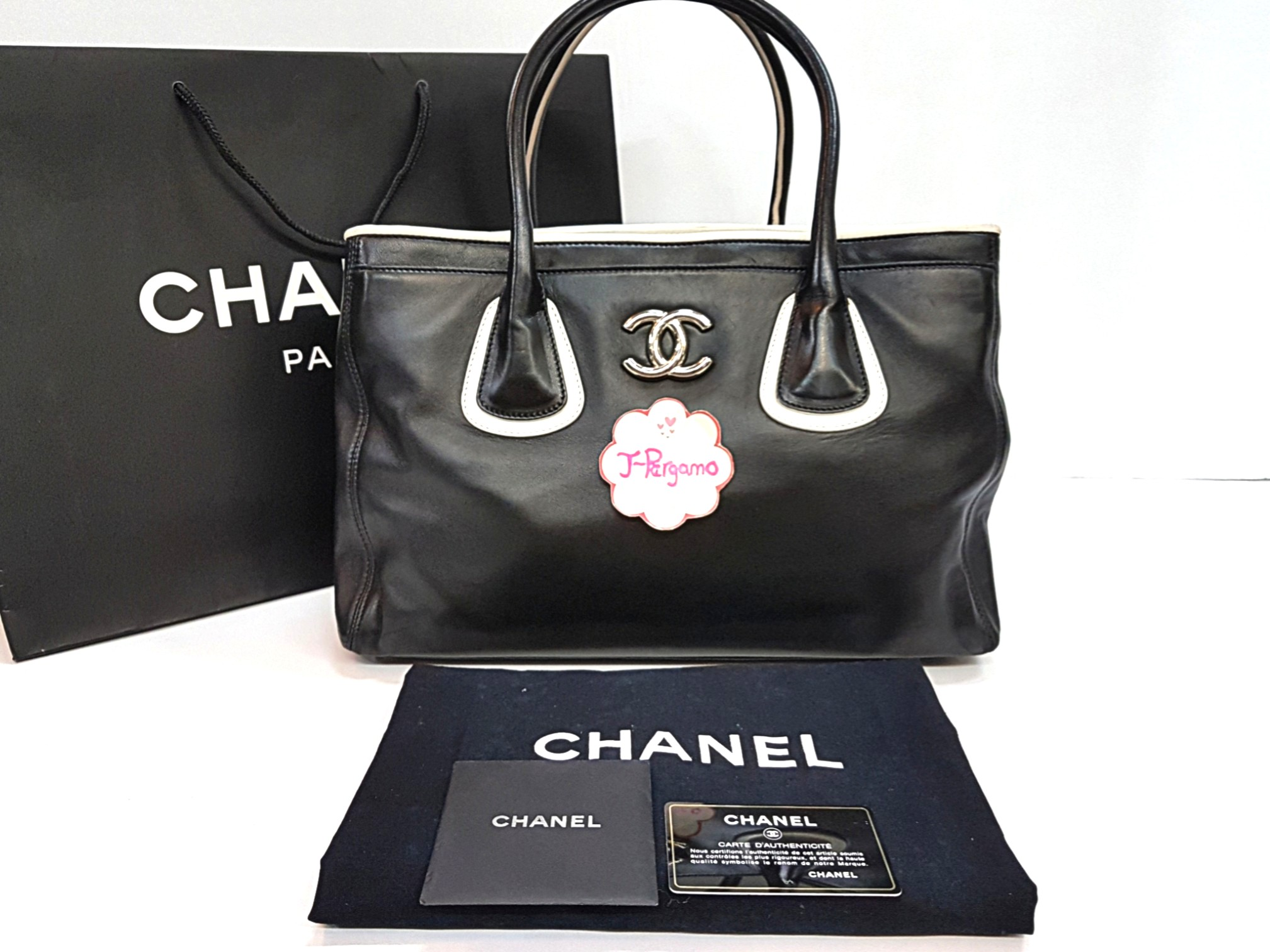 820b56d0ca Authentic Chanel Lambskin Large Executive Cert Tote Bag SHW {{ Only For  Sale }} ** No Trade ** {{ Fixed Price Non-Neg }} ** 定价 **, Luxury, Bags &  Wallets, ...