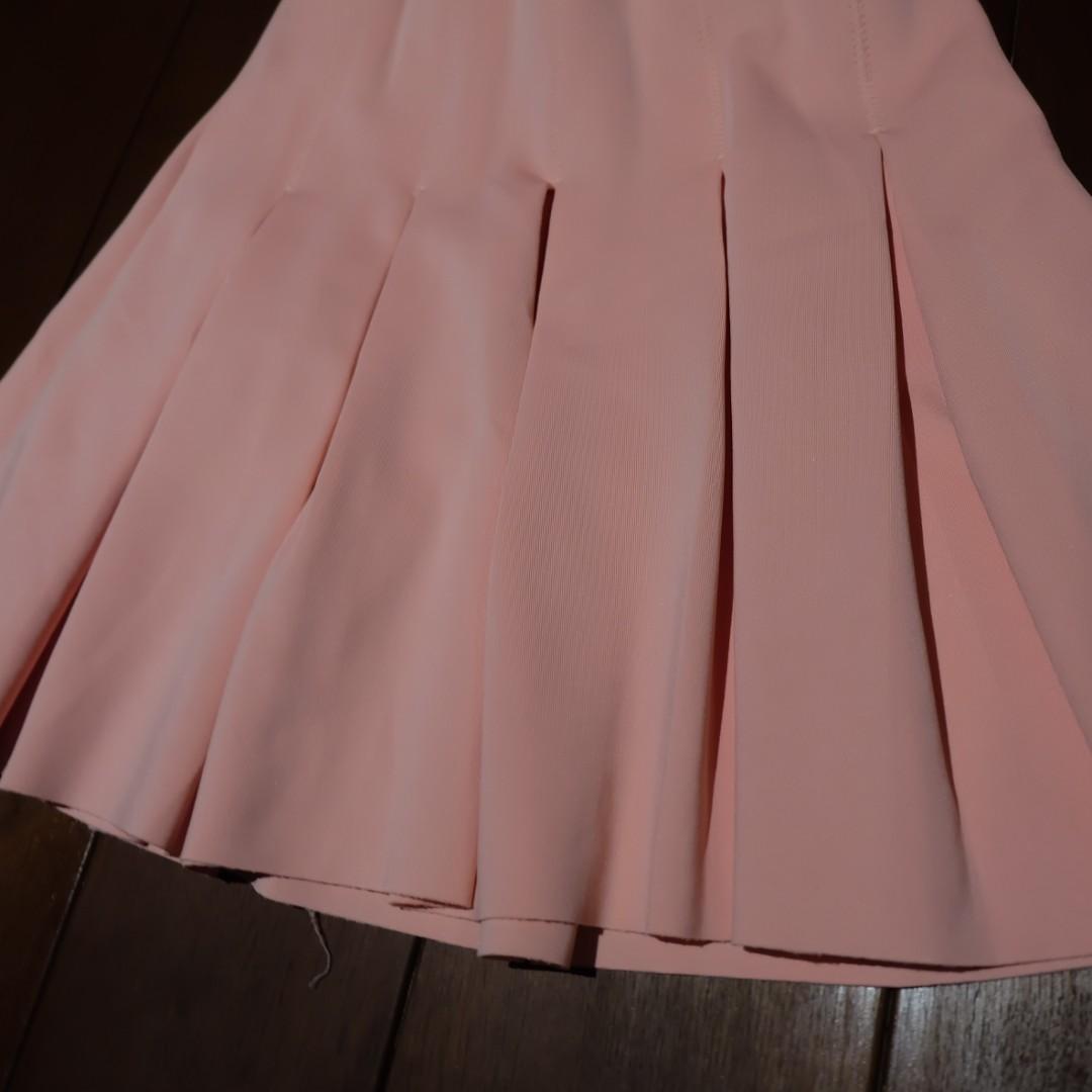 ZARA - Baby Pink Cheerleader Skirt