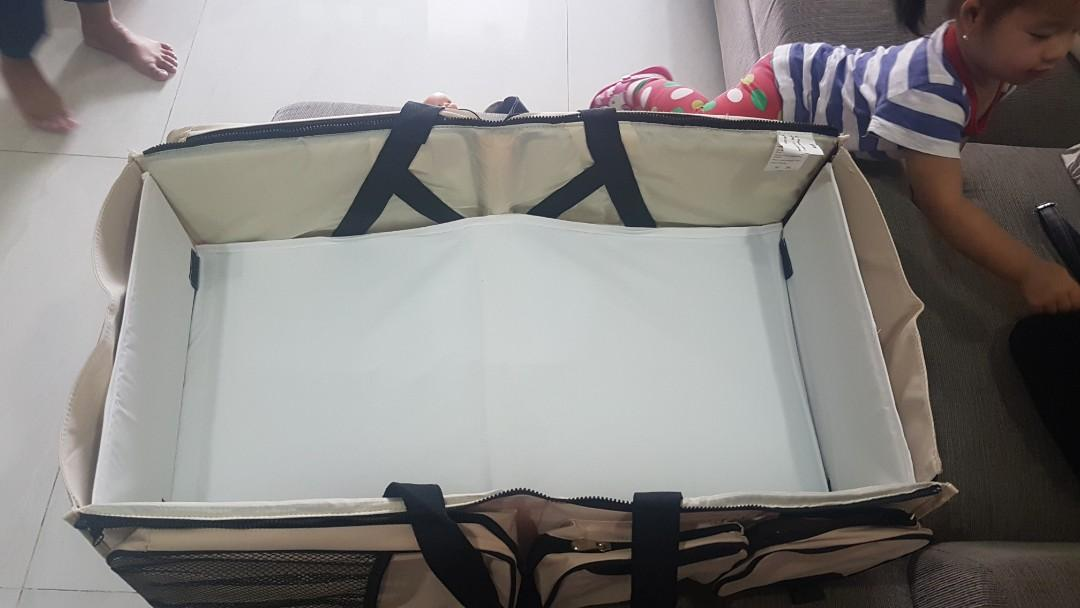 Baby Safe Travel Bed/ Foldable Bed