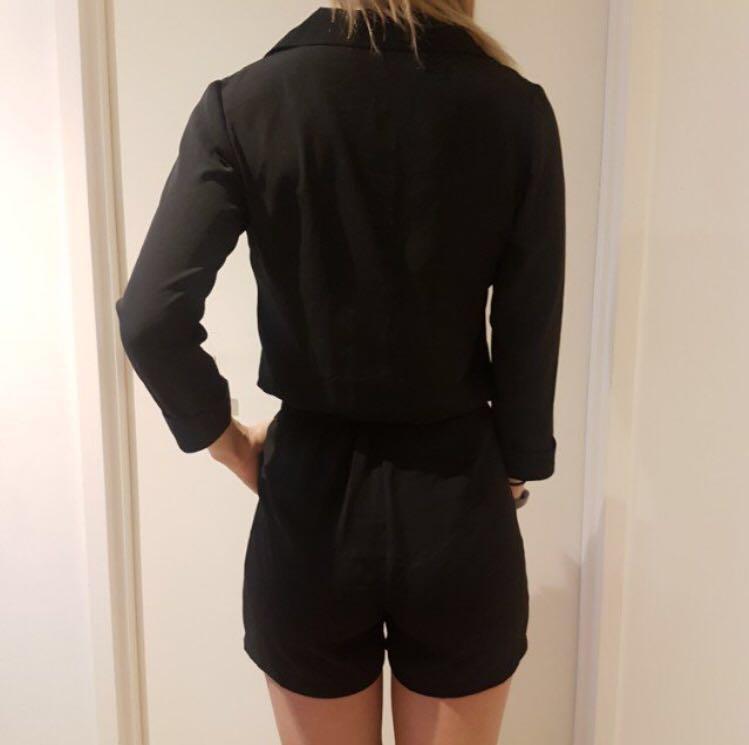Black jumpsuit/ playsuit