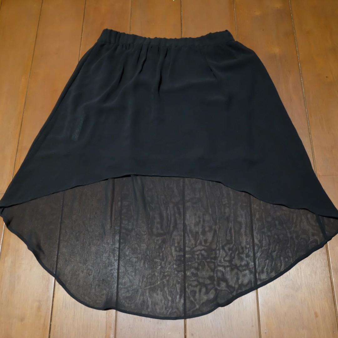 Mango - Black Mermaid Skirt