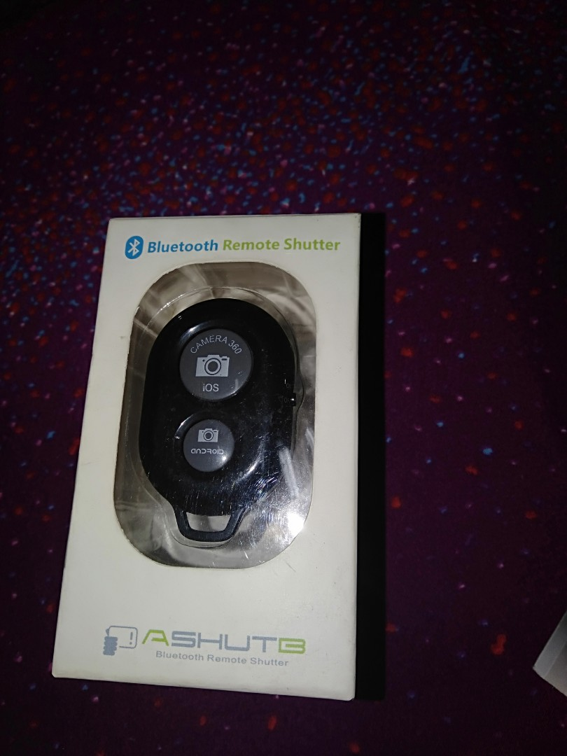 Bluetooth Remote Shutter on Carousell