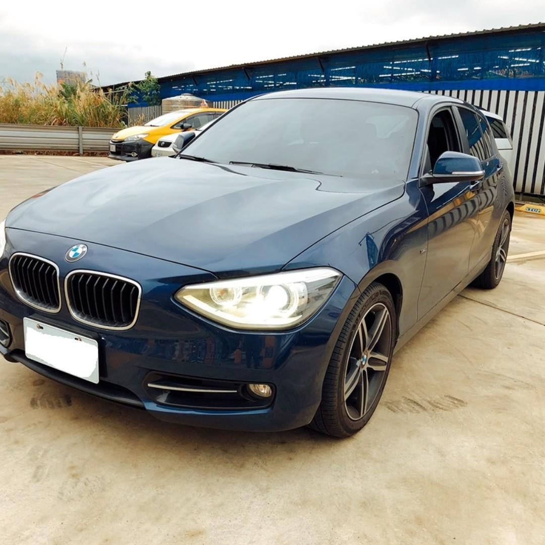 BMW 12年 118i 跑12萬 藍色