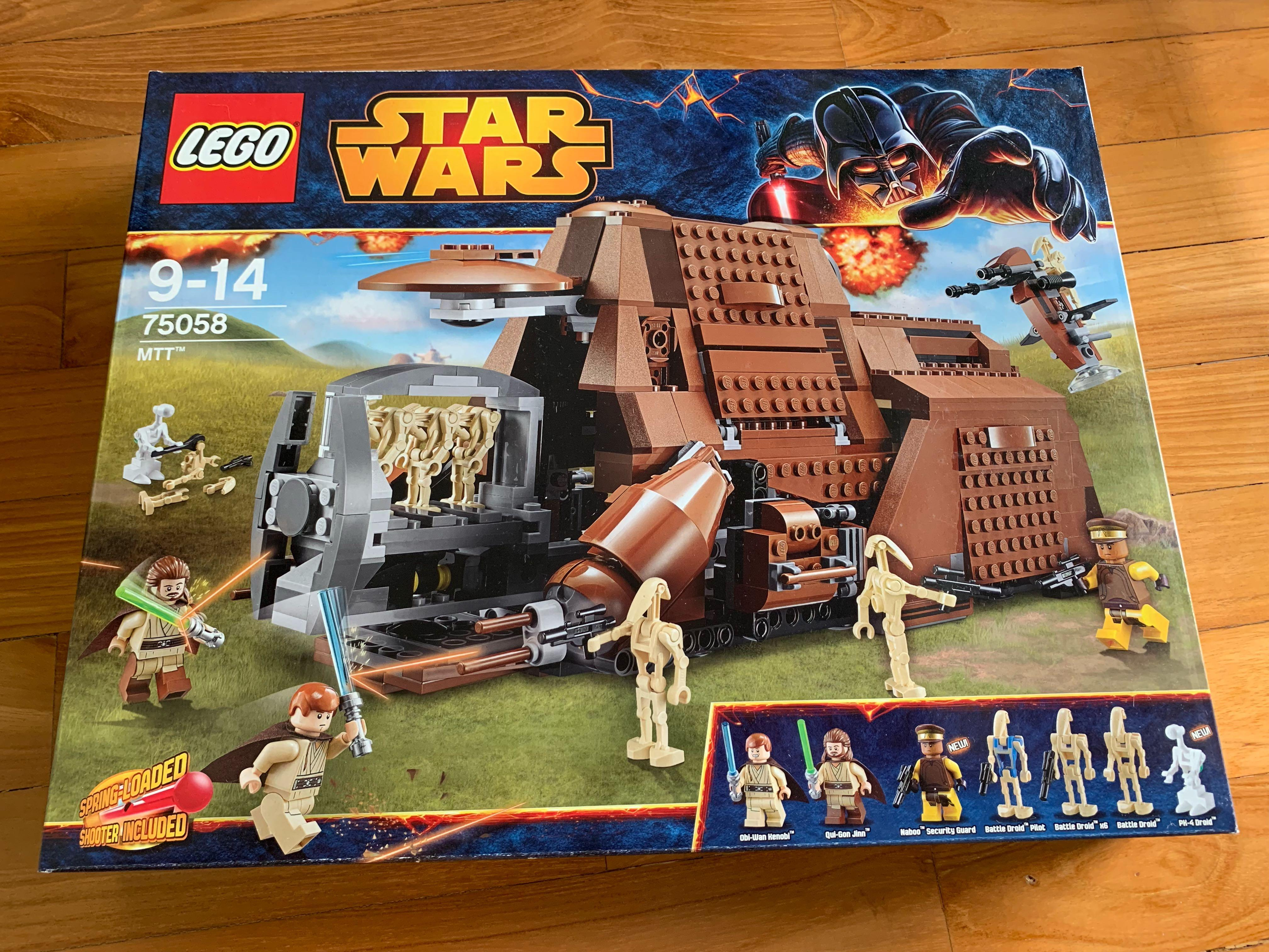 BNIB LEGO 75058 Star Wars Trade Federation Multi Troop