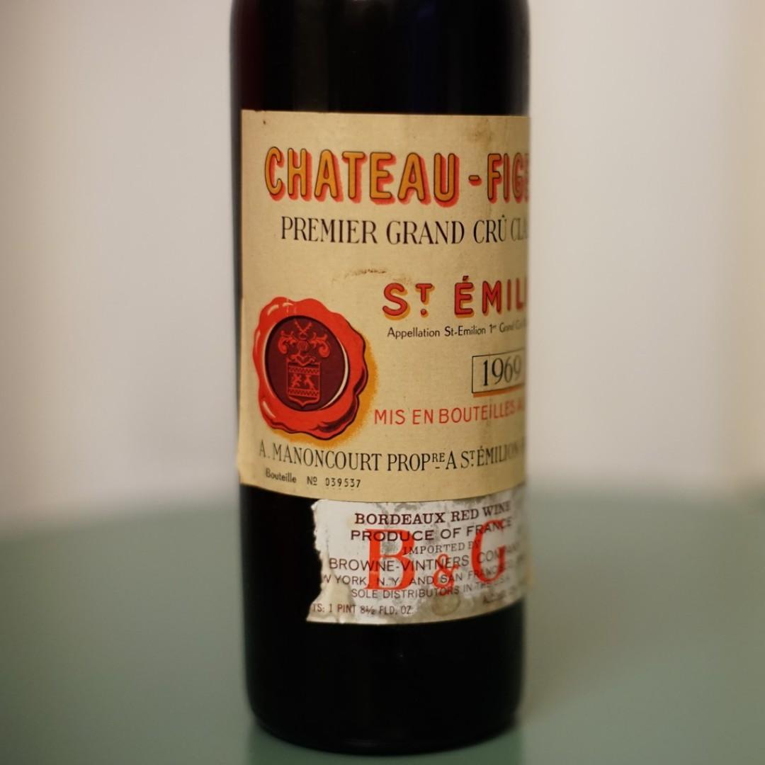 (Bordeaux) 1969 Chateau Figeac, Saint-Emilion
