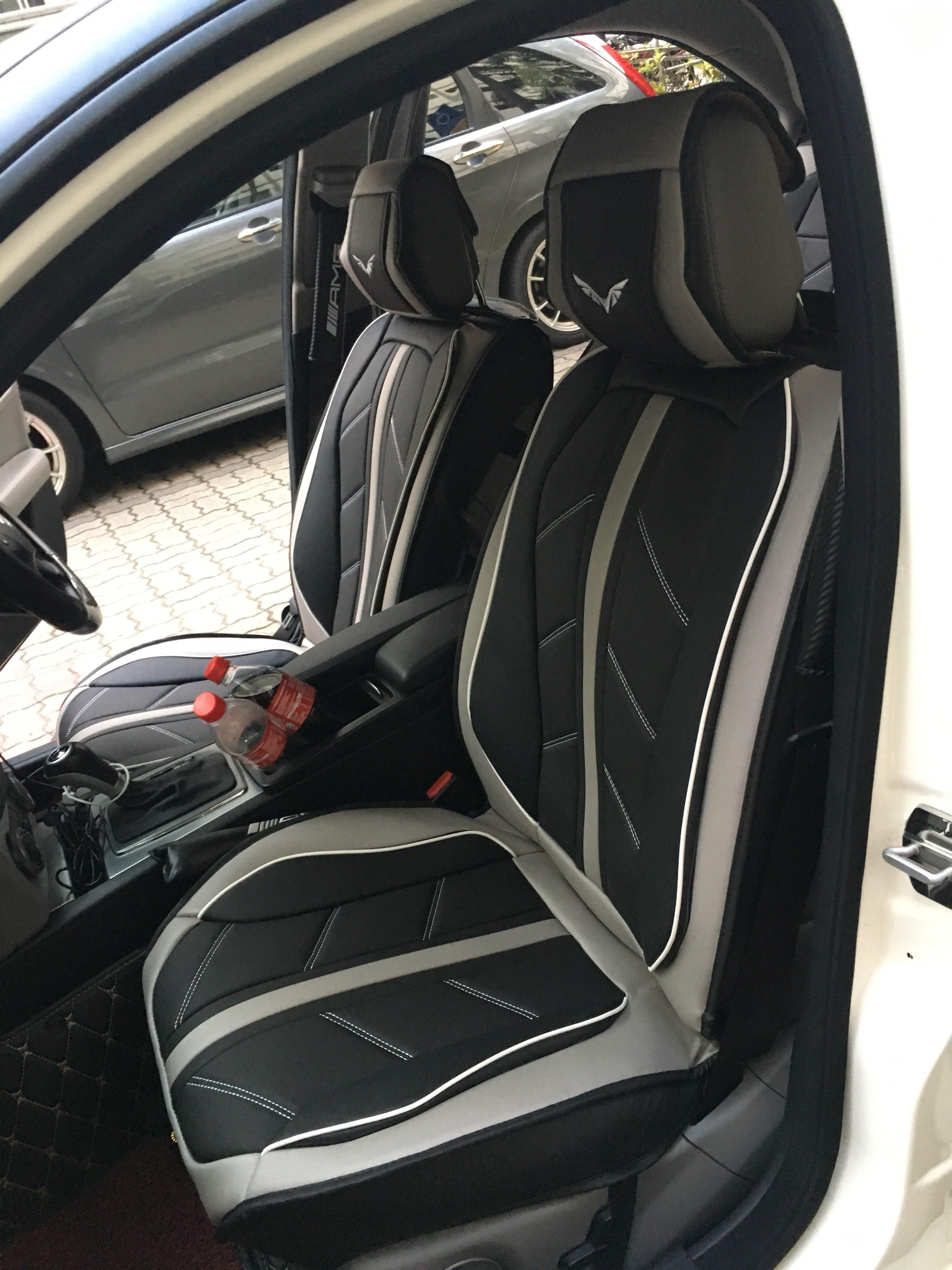 Car leather seat cover (universal+)