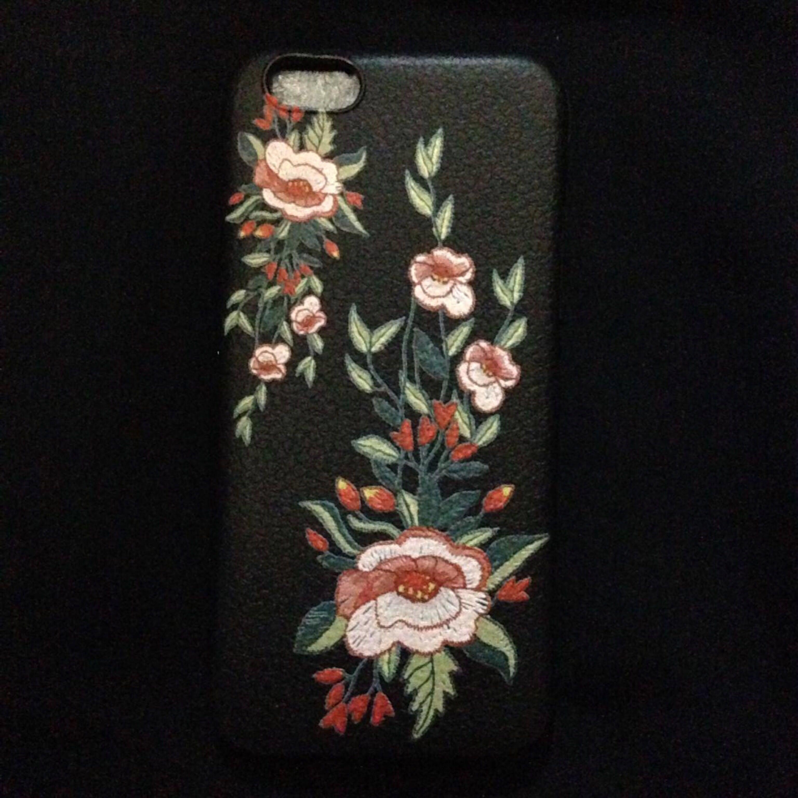 case iphone 6/6s textured flower