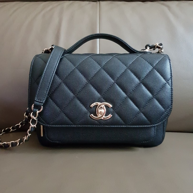 99cfe9b223d4ef CHANEL Business Affinity Black Caviar Bag #EndgameYourExcess, Luxury ...